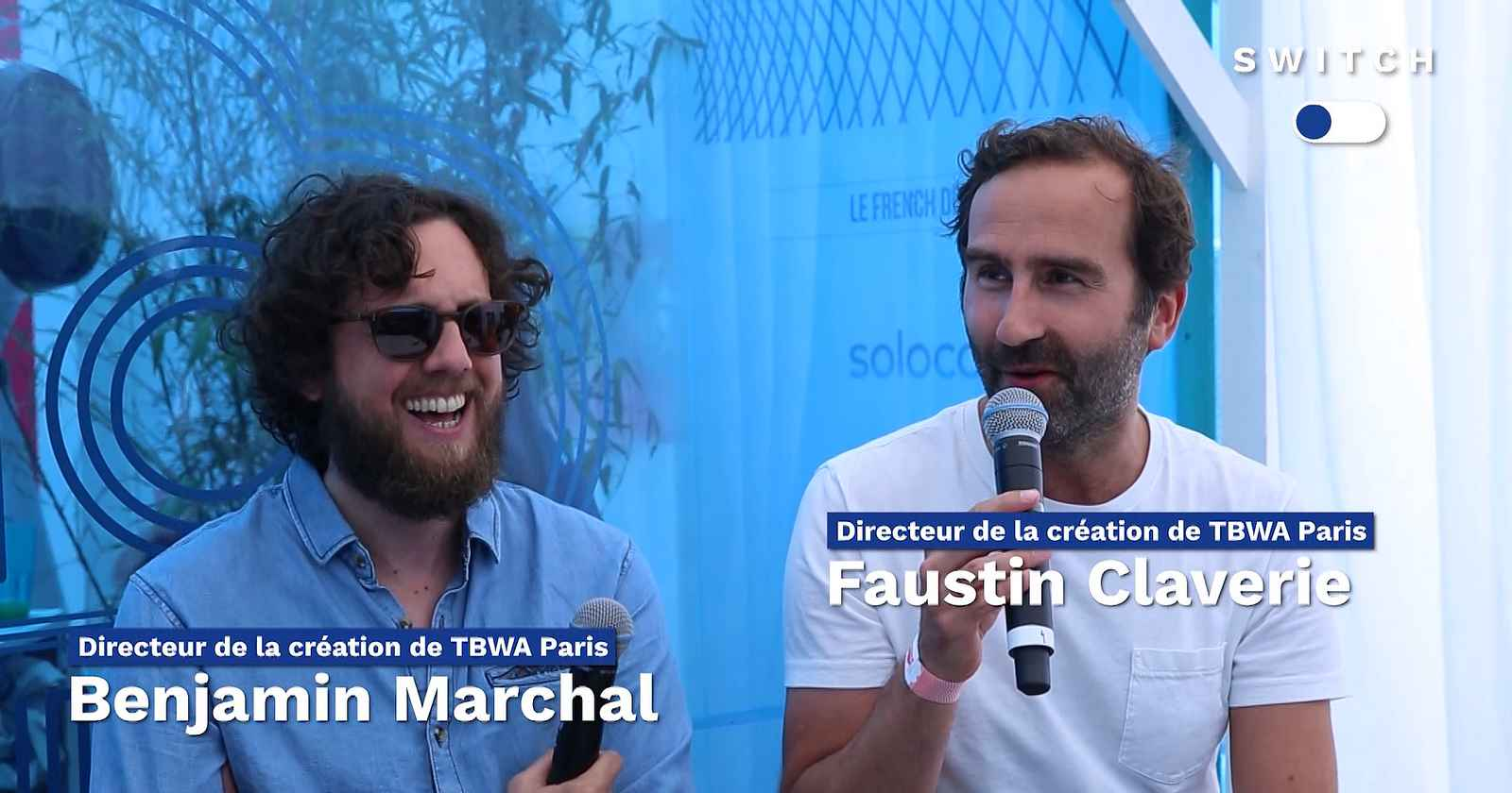 Switch : Benjamin Marchal, Faustin Claverie (TBWA\Paris)