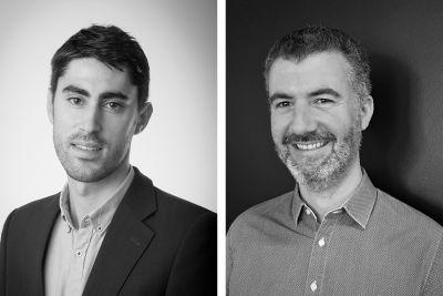Jean-Baptiste Maulbon, Vidéo Manager chez Havas Media (à gauche) et Julien Lévy, Trading Manager chez GroupM (à droite)