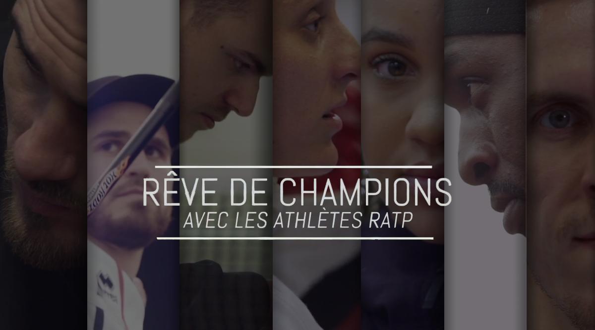 """La Ratp met en scène """"Rêve de champions"""" - Image"""