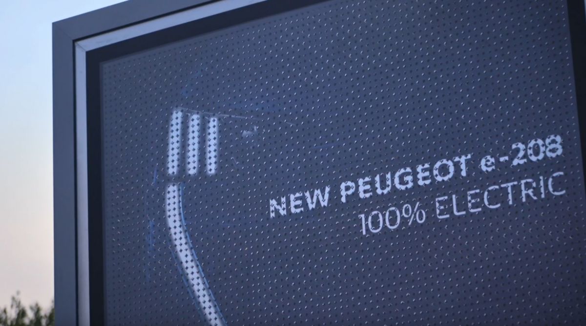 Peugeot teste un futur silencieux - Image