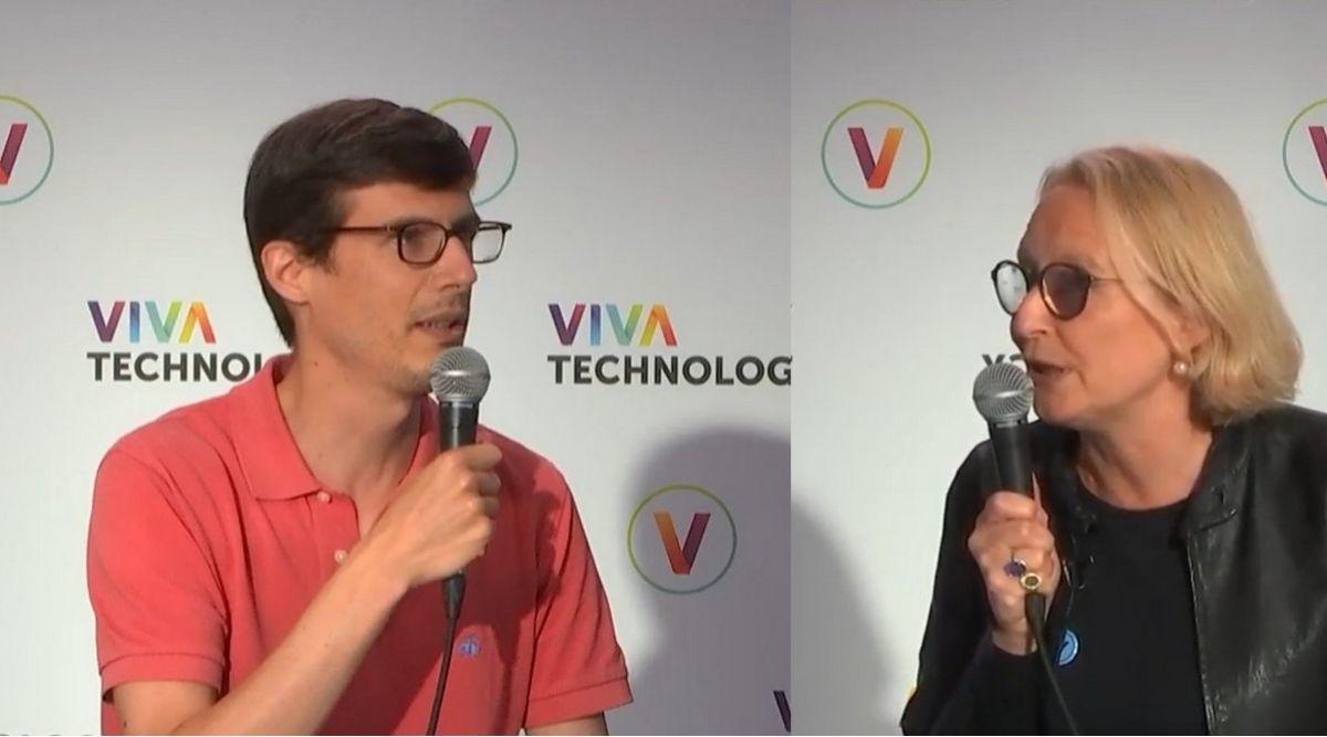 Suite des interviews vidéo de CB News à Vivatech 2021. Rencontre ce matin avec AlbaneLiger-Belair, directrice Open Innovation de KPMG, et Raoul Costa de Beauregard, COO de Back Market.