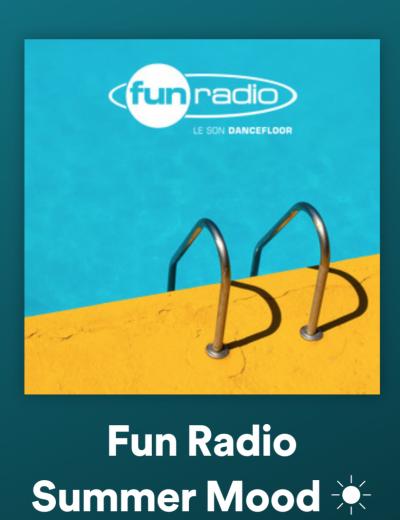 Fun Radio lancent ses premières playlists sur les plateformes de streaming - Image