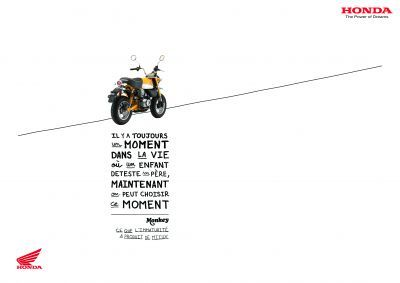 Monkey - Honda Moto - DDB Paris