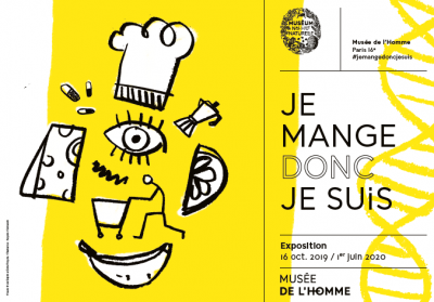 Marmiton au musée de l'Homme pour « Je mange donc Je Suis » - Image